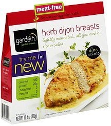 herb dijon breasts Gardein Nutrition info