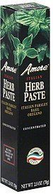 herb paste italian parsley, basil, oregano, concentrated Amore Nutrition info