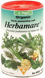 herb seasoning salt organic Herbamare Nutrition info