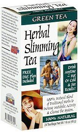 herbal slimming tea caffeine free, green tea 21st Century Nutrition info