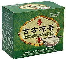 herbal soothing tea hong kong Superior Nutrition info