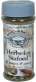 herbs for seafood for butters & sauces Blue Crab Bay Co. Nutrition info