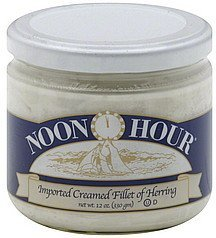 herring creamed fillet Noon Hour Nutrition info