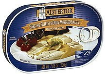 herring fillets in dijon-mustard sauce Alstertor Nutrition info