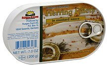 herring fillets in mustard sauce Rugen-Krone Nutrition info