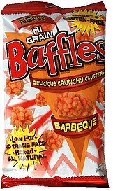 hi grain crunchy clusters barbeque Baffles Nutrition info