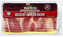 hickory smoked bacon premium thick sliced Holmes Smokehouse Nutrition info