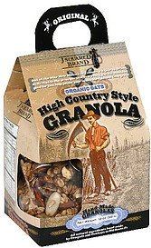 high country style granola J Squared Brand Nutrition info