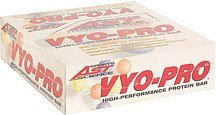 high performance protein bar Vyo-Pro Nutrition info