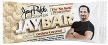high-protein bar cashew-coconut JayBar Nutrition info
