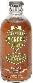 himalayan blended with green tea & essence of lemon Kombucha Wonder Drink Nutrition info