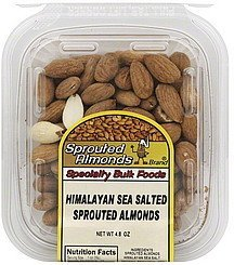 himalayan sea salted Sprouted Almonds Nutrition info