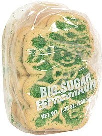 holiday cookies big sugar leprechaun Parco Nutrition info