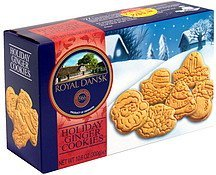 holiday ginger cookies Royal Dansk Nutrition info
