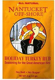 holiday turkey rub Nantucket Off-Shore Nutrition info
