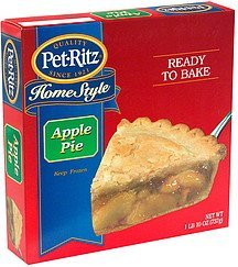 home style apple Pet-Ritz Nutrition info
