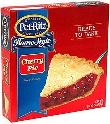 home style cherry Pet-Ritz Nutrition info