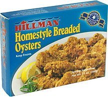 homestyle breaded oysters Hillman Nutrition info