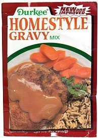 homestyle gravy mix Durkee Nutrition info