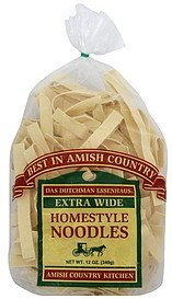 homestyle noodles extra wide Das Dutchman Essenhaus Nutrition info