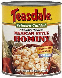 hominy mexican style Teasdale Nutrition info