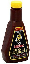 honey barbecue sauce fat free Billy Bee Nutrition info