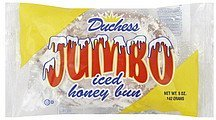 honey bun iced, jumbo Duchess Nutrition info