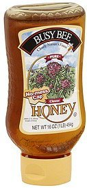 honey clover Busy Bee Nutrition info