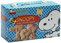 honey graham cookies snoopy Peanuts Nutrition info