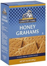 honey grahams Midwest Country Fare Nutrition info
