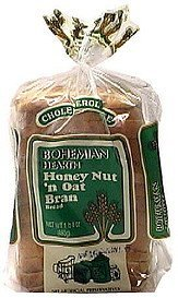 honey nut 'n oat bran Bohemian Hearth Nutrition info