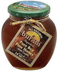 honey pure bee Buram Nutrition info