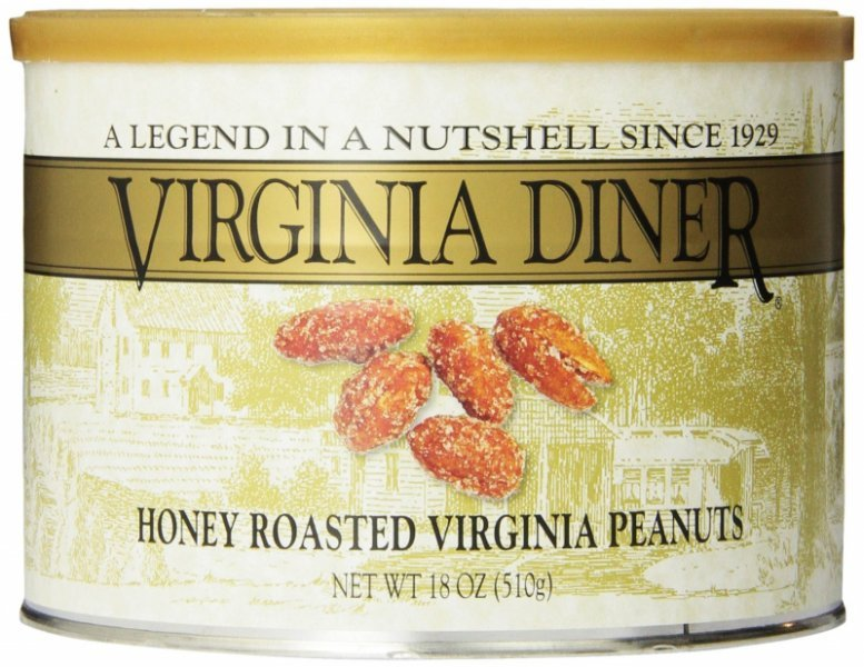 honey roasted peanuts Virginia Diner Nutrition info
