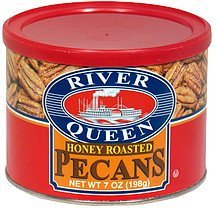 honey roasted pecans River Queen Nutrition info