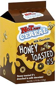 honey toasted o's milk chocolate Not Just Cereal Nutrition info