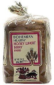 honey wheat berry bread Bohemian Hearth Nutrition info