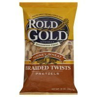 honey wheat braided twists Rold Gold Nutrition info