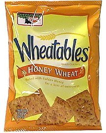 honey wheat snack crackers Wheatables Nutrition info