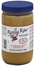 honey Really Raw Nutrition info