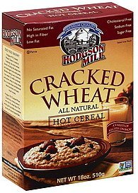 hot cereal cracked wheat Hodgson Mill Nutrition info
