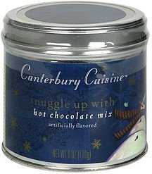 hot chocolate mix Canterbury Cuisine Nutrition info