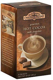 hot cocoa gourmet, milk chocolate Rocky Mountain Chocolate Factory Nutrition info