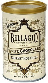 hot cocoa gourmet white chocolate mix Bellagio Nutrition info