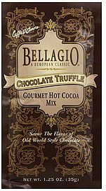 hot cocoa mix gourmet, chocolate truffle Bellagio Nutrition info