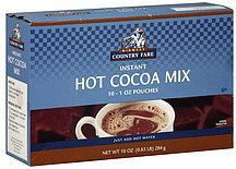 hot cocoa mix instant Midwest Country Fare Nutrition info