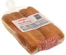 hot dog buns Ovenmill Nutrition info