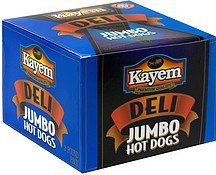 hot dogs jumbo Kayem Nutrition info