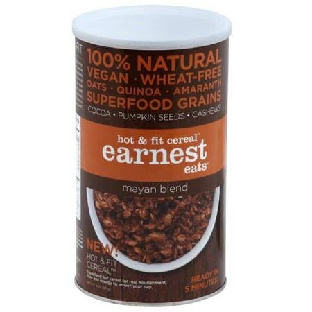 hot fit cereal mayan blend Earnest Eats Nutrition info