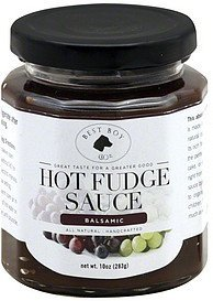 hot fudge sauce balsamic Best Boy & Co. Nutrition info