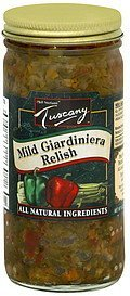 hot giardiniera relish Tuscany Nutrition info